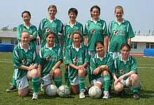 The very first ClubFootball Women's team in 2003!!