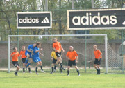 action from the clubfootball amateur league
