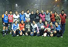 the ClubFootball women's squad