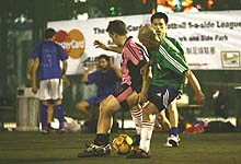 ClubFootball 5-a-side Action, pic by Lu Qiang of City Weekend