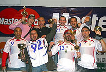 The Autumn 2007 MasterCard ClubFootball 5-a-side League Awards Ceremony, pic by Digitouch