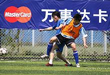 万事达卡万国群星周中五人制足球联赛-照片由Digitouch提供