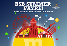 The BSB Spring Fair, May 8th at ISB!