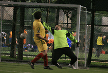 Action from the ClubFootball Midweek League