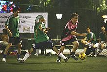 万事达卡万国群星5人制足球联赛掠影-digiTouch提供